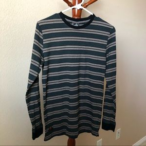 Active Ride Shop Striped Long Sleeve Shirt